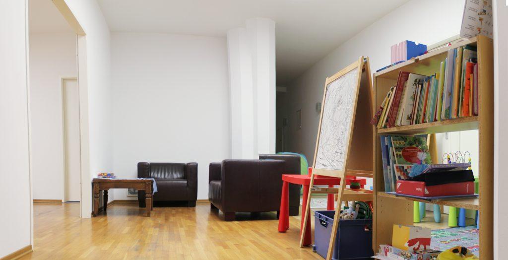 Raum für begleitenden Umgang bei der navitas gGmbH