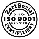 navitas Integrationskurse sind mit dem Siegel ZertSozial nach Iso 9001 zertifiziert