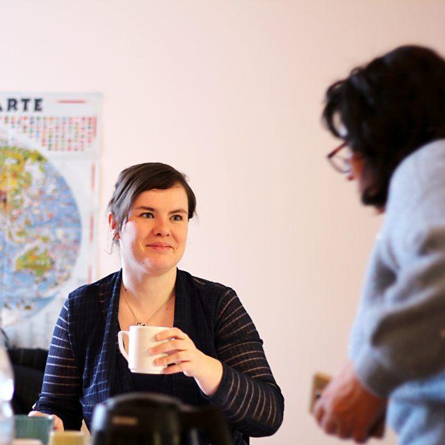 Doreen Engel, Koordination BEW Lichtenberg der navitas gGmbH