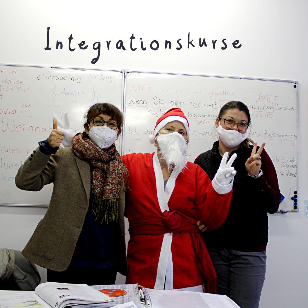 Grüße von den Integrationskursen