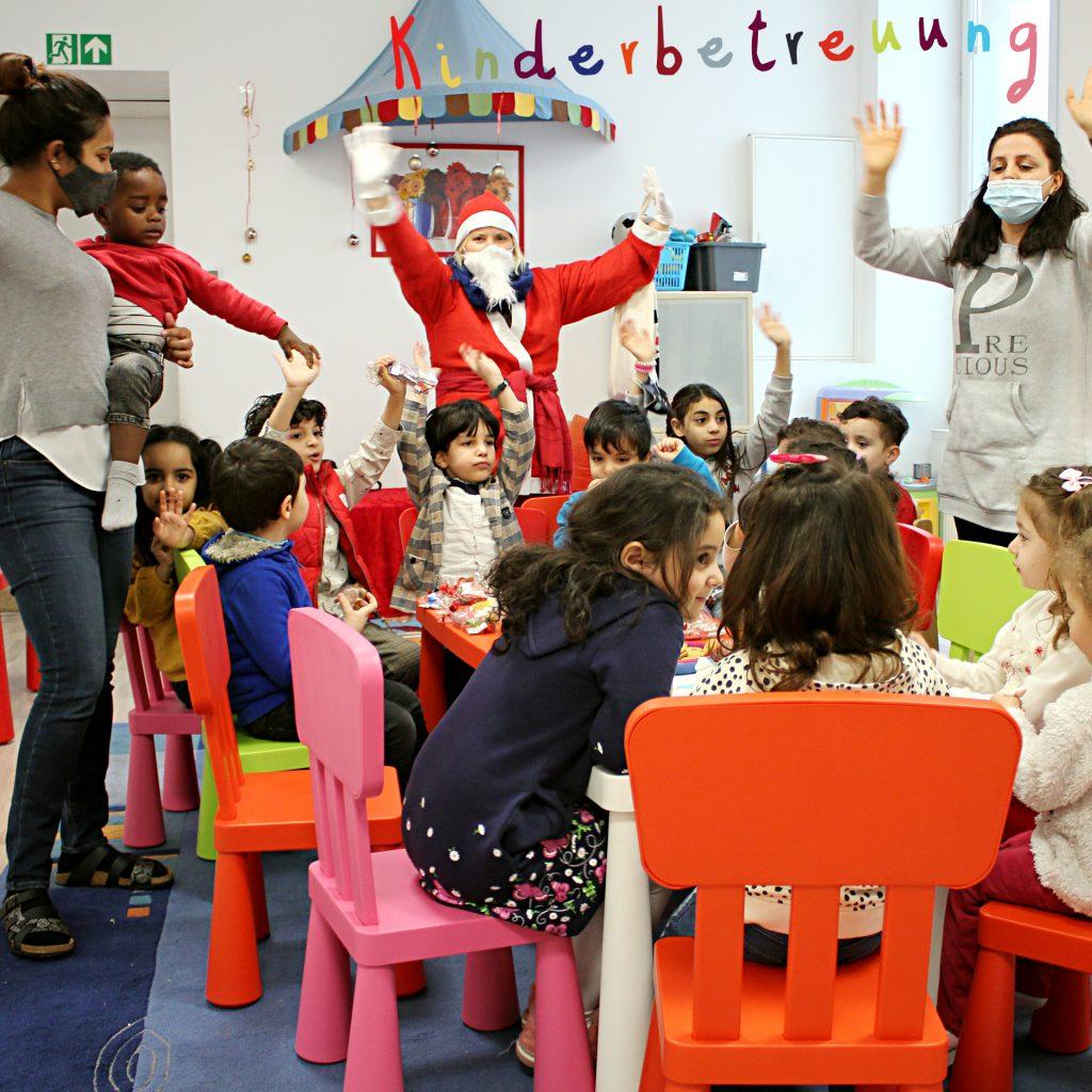 Grüße von der Kinderbetreuung