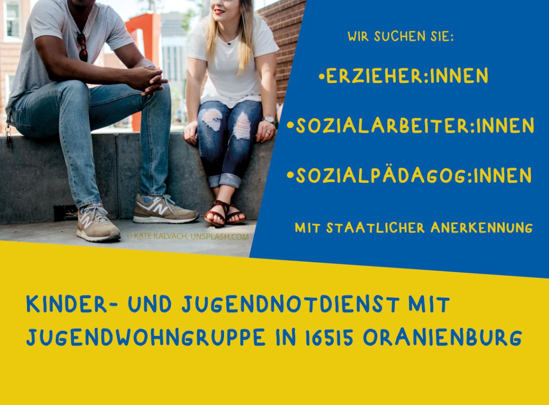 Jobs als Erzieher in Oranienburg, Kinder- und Jugendnotdienst, navitas gGmbH