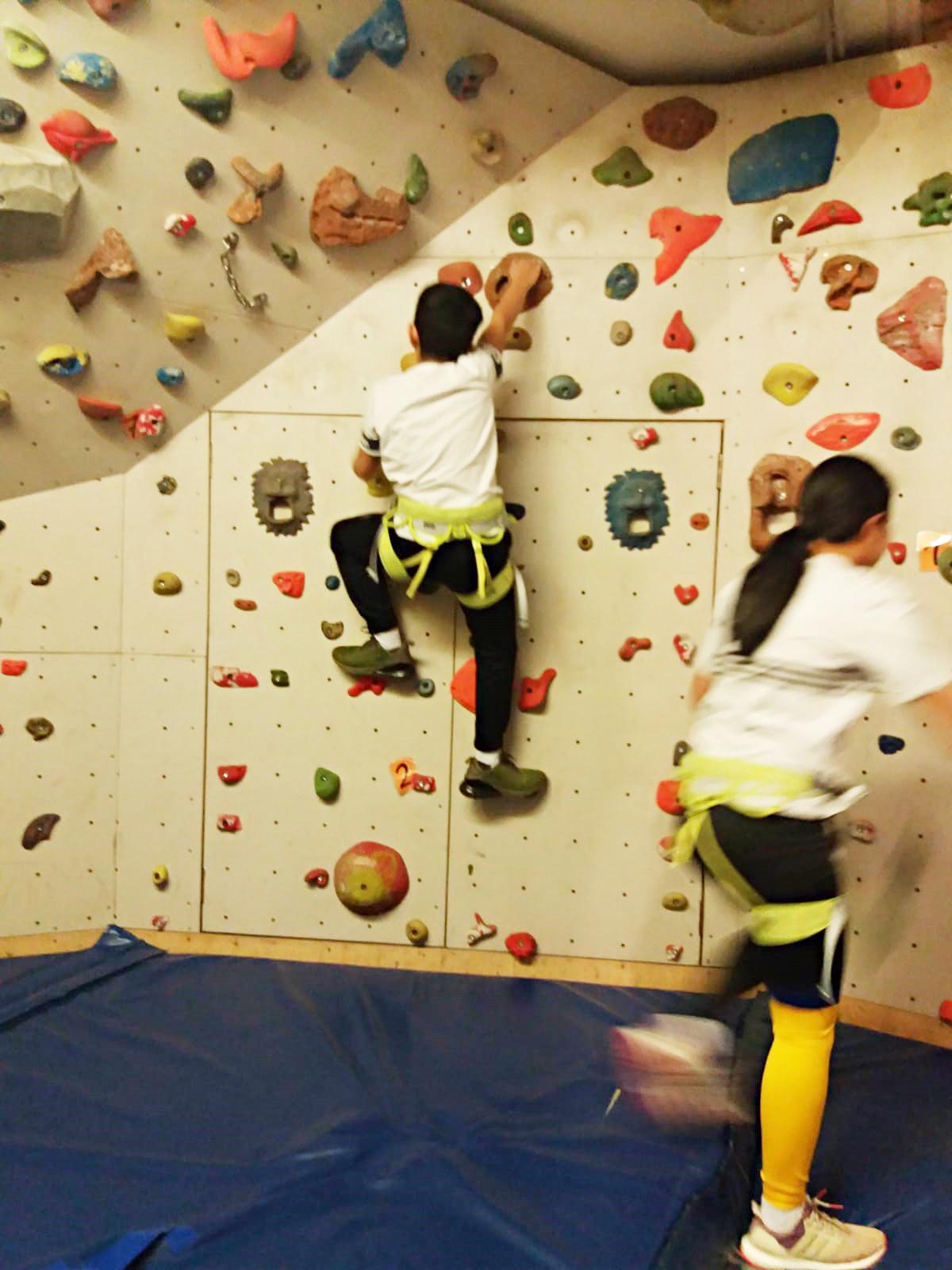 Klettern in der Stationären Jugendhilfe in Rägelin-Temnitzquell der navitas gGmbH