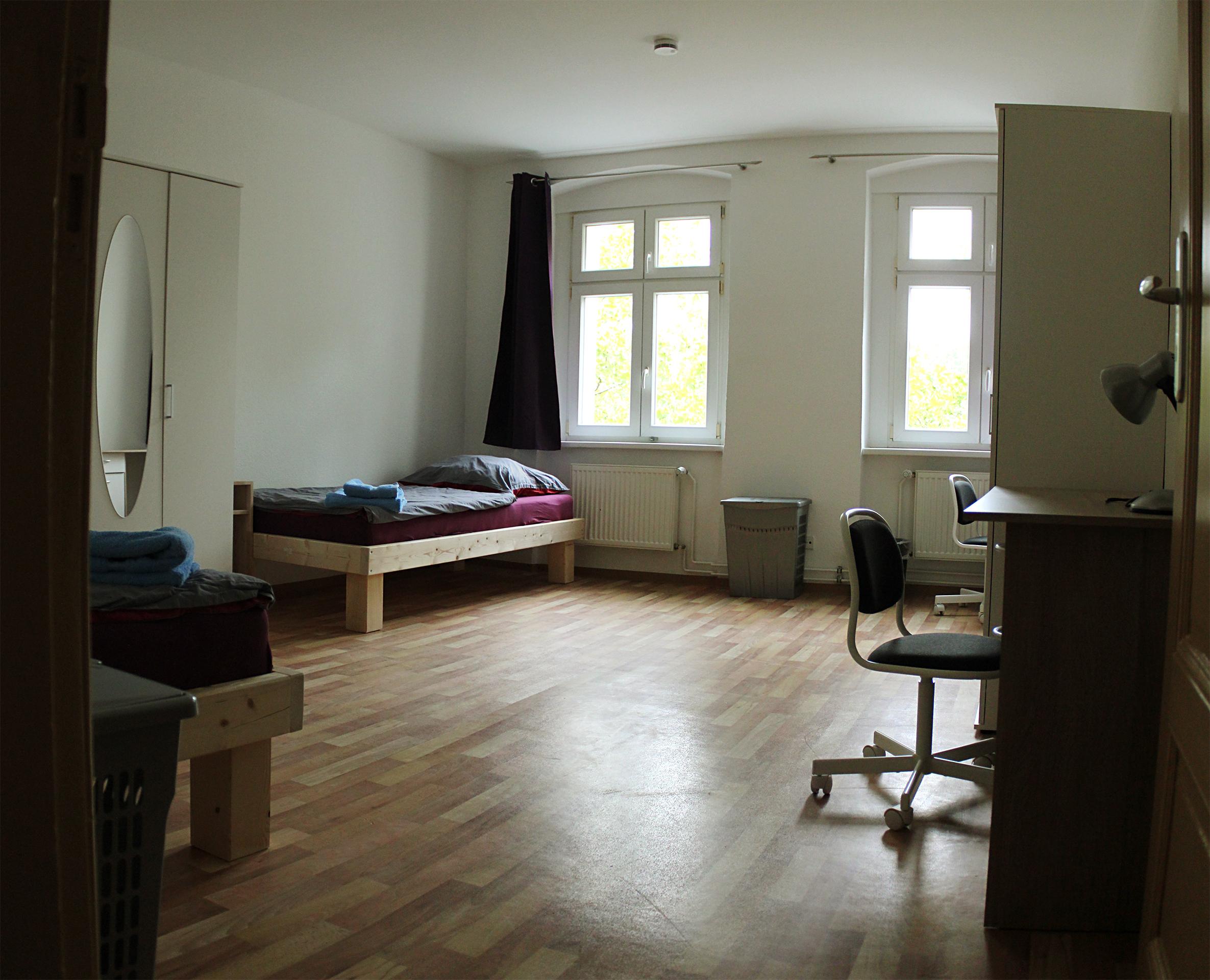 Zimmer in der Kinder- und Jugendwohngruppe OHV, navitas gGmbH