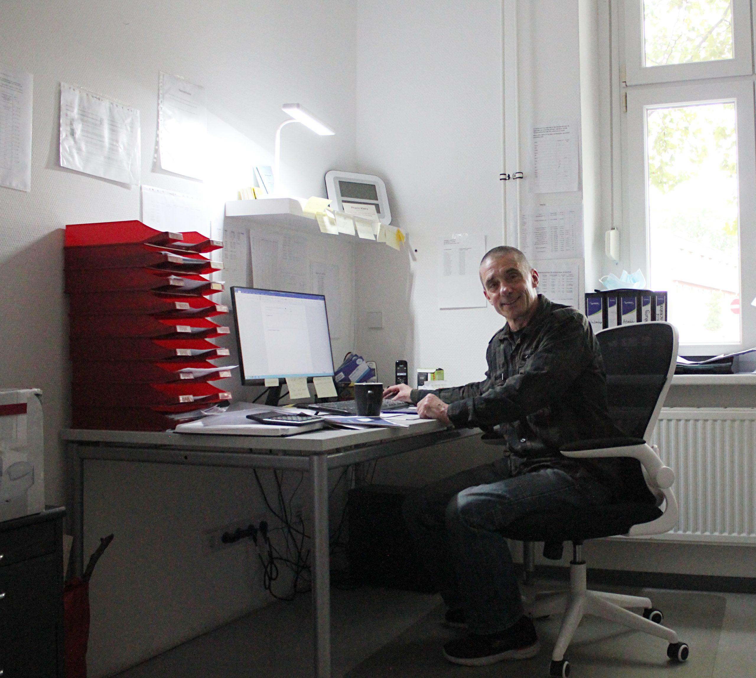 Uwe Schiwek, Leiter des Kinder- und Jugendnotdienstes OHV in Oranienburg, navitas gGmbH